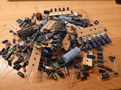 200+ Electrolytic Capacitors Kit Assorted Values mixed new