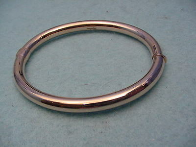Vintage Dyadema Rose Bronze Bangle Made In Italy