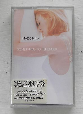 MADONNA - Something to remember - MUSICASSETTA -*28067