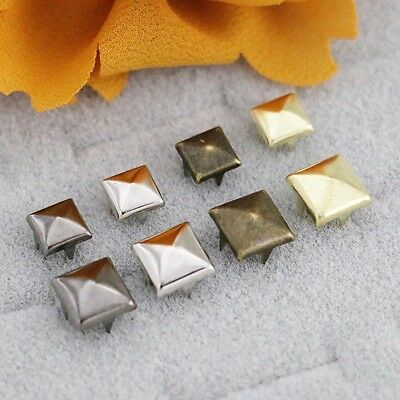 Prong Nail Head Rivets,all Metal Many Color,shape & Size To Choose From Ship Usa