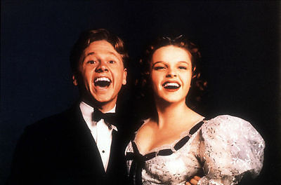 Judy Garland & Mickey Rooney Unsigned Photo - 585