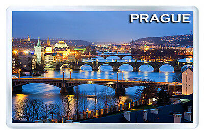 Prague Mod4 Fridge Magnet Souvenir Iman Nevera