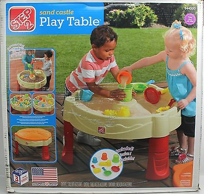 Step 2 SAND CASTLE PLAY TABLE Outdoor Activity Table #844500