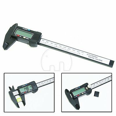 "6"" 150mm Digital LCD Vernier Caliper Gauge Micrometer Electronic Measuring Tool"