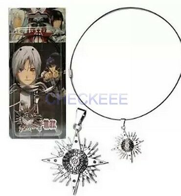 D.Gray-man Logo Alloy Pendant Necklace Cosplay Accessories