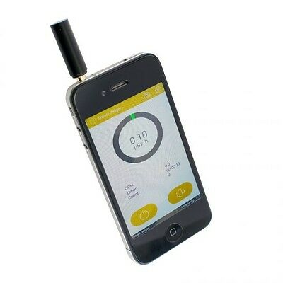 Smart Geiger Nuclear Radiation Detector Counter Test for iPhone Android Phone