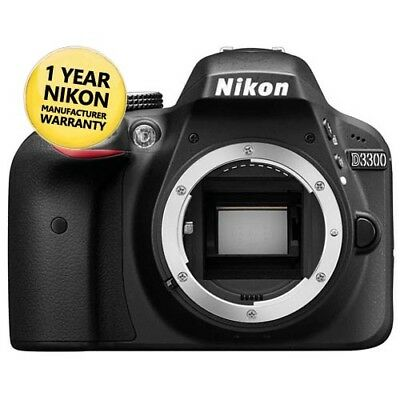 Nikon D3300 (REFURB BODY) DSLR Camera with GEN NIKON WARR