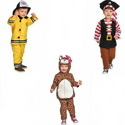 Old Navy Costume-Pirate,Fireman,Leopard NWT Cute & HTF for Halloween, Dress Up