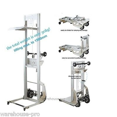 NEW DUCT WINCH LIFTER- Lifts up to 1.5mtrs- Converts into a flatbed trolley