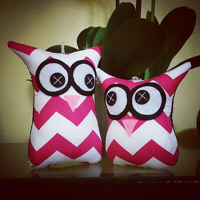 ❤️Owl Softies ❤️ Pink and White Chevron   MiniMe Sets   Baby   Girls   Gifts