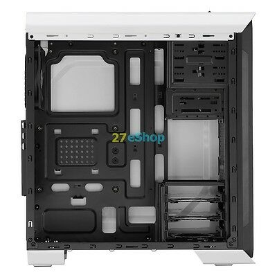 Aerocool Aero 500 Case Middle Tower White Motherboards ATX/Micro ATX / Mini ITX
