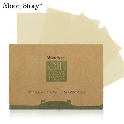 100 Sheets Absorbing Facial Face Clean Makeup Oil Control Tissue Blotting Papers