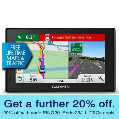 Garmin DriveAssist 50LMT GPS Navigator Crash Camera with GEN GARMIN WARRANTY!
