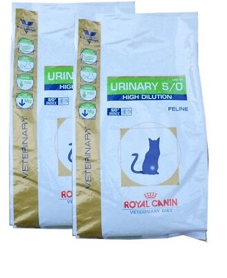 2x7kg Royal Canin Urinary UHD 34 S/O High Dilution