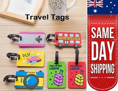 New Silicon Travel Luggage Bag Tags Name Address ID Label High Quality x1 x2  x3