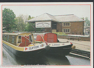 Wales Postcard - Powysland Museum & Montgomery Canal Centre, Welshpool  RR663