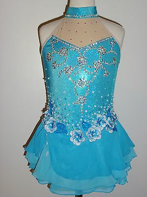 Custom Made To Fit Figure Ice Skating /baton Twirling Costume
