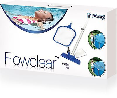Bestway 80 Inch Pool Maintenance Kit - Blue, 203cm