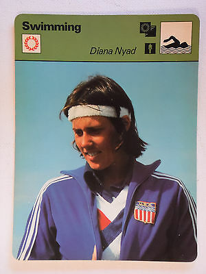 Sportscaster Rencontre Card - Swimming - Diana Nyad