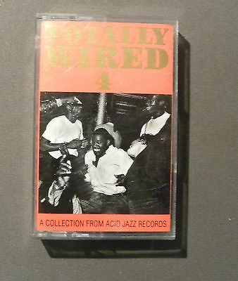 TOTALLY WIRED 4  - A collection from Acid Jazz Records - MUSICASSETTA -*28117