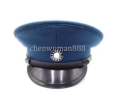 Ww2 Chinese Military Army Nationalist Forces Kmt Kuimingtang Officer Cap Hat L