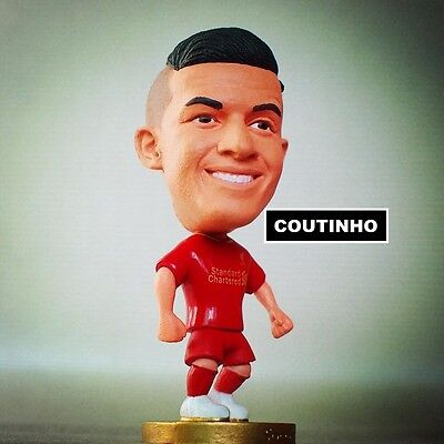 Statuina doll PHILIPPE COUTINHO #10 LIVERPOOL premier league action figure 7 cm