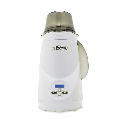Dr Brown's Natural Flow Deluxe Baby Bottle Warmer / Electric Steam / LCD #G
