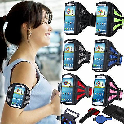 Sports Jogging Gym Running Adjustable Net Armband Phone Holder Cover for Samsung