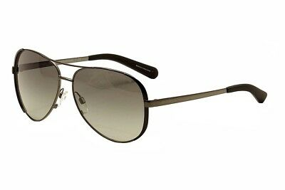 Michael Kors Chelsea MK5004 5004 1013/11 Gunmetal/Black Pilot Sunglasses 59mm