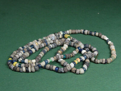 Ancient Glass Bead Necklace Roman 100-300 Ad