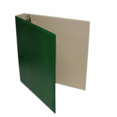 "Seven Seas 32mm ""D"" Ring Binder for Stamps and Banknotes - GREEN"