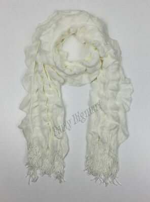 Bulk Lots 12x Ladies Warm Winter Soft Knit long Scarf -7 Colours Assorted G6314