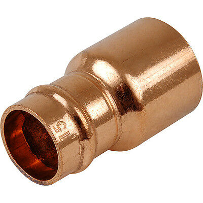 Quality 15mm x8mm Copper Solder Ring/Yorkshire internet fitting Reducer,free P&P