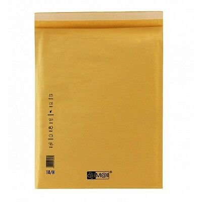 BUSTE POSTALI IMBOTTITE 8-H colore AVANA email 270 X 360 mm BUSTA PLURIBALL