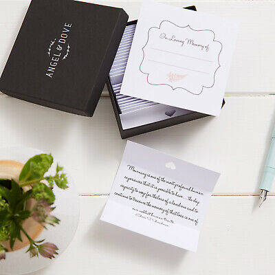 Sympathy Gift: Box of 30 Comforting Quotes - Bereavement, Remembrance, Funeral