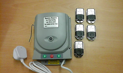 Neco Roller Shutter  Remote Control Kit C/w 5 Hand Sets & Buttons Full System