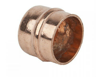 Quality 10mm Copper Soldered Stopends, Free P&P Same Day Dispatch