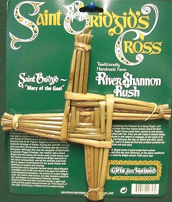 Ireland Saint Bridgids Cross River Shannon Rush Mary Of The Gael