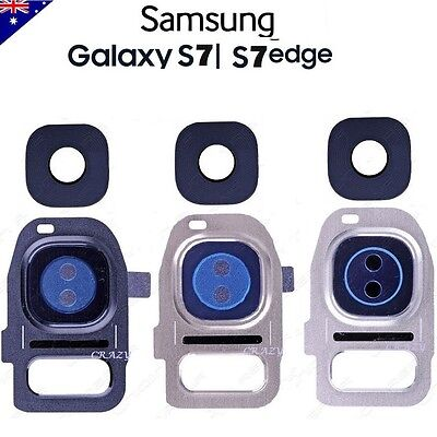 Galaxy S7 / S7 Edge Camera Lens Cover Replacement Frame & Tools For Samsung