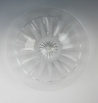 Heisey Glass NARROW FLUTE-CLEAR Bread & Butter Plate(s) VERY GOOD