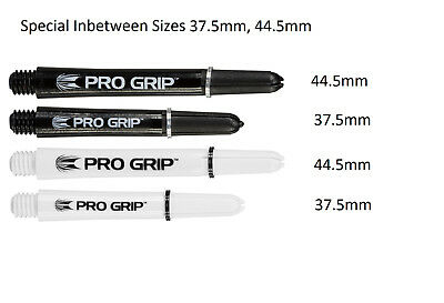5 x Sets Target Pro Grip Dart Stems Shafts - Between Sizes - 41.5mm and 34.5mm