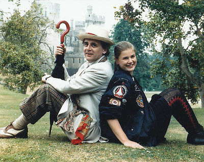 SYLVESTER McCOY & SOPHIE ALDRED UNSIGNED PHOTO - 6288 - DOCTOR WHO