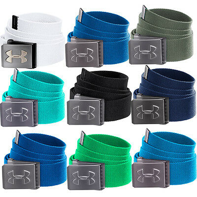 Under Armour 2017 Mens Funky Webbing Canvas Golf Belt -Bottle Opener Buckle