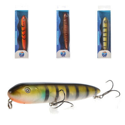 CABO 130mm Submarine Weighted Pencil Poppwer Topwater Rattling Fishing Lure