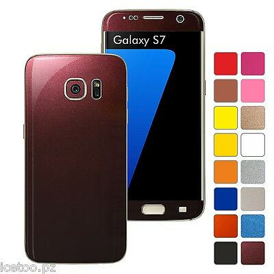 For SAMSUNG GALAXY S7 GLOSSY Colorful Decal Wrap Protector Sticker Skin