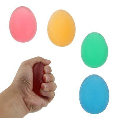 Soft Gel Egg Hand Finger Exercise Ball Stress Relief Autism Squeeze Therapy Ball