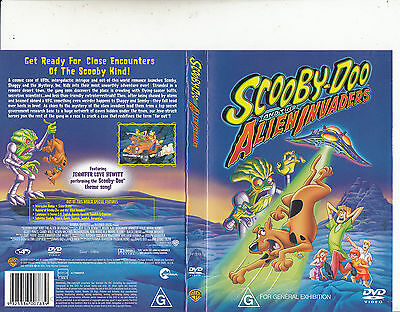 Scooby-Doo And The Alien Invaders-2000-Animated SD-Movie-DVD a040fc36f