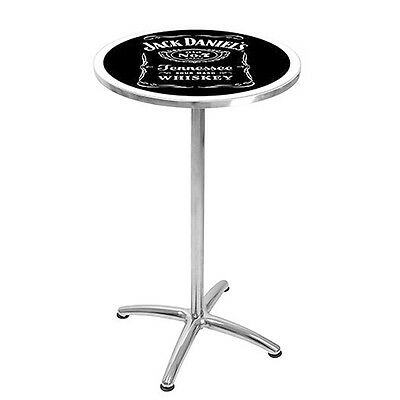 License 1x Jack Daniels Bar Table for Men Cave Pool Room Best Gift Free Postage