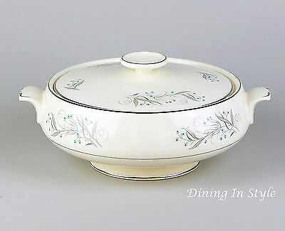 Covered Vegetable Serving Bowl & Lid, SUPERB! Celeste, Homer Laughlin, B1447