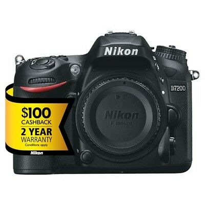 Nikon D7200 DSLR Camera (Body Only) with GEN NIKON WARR